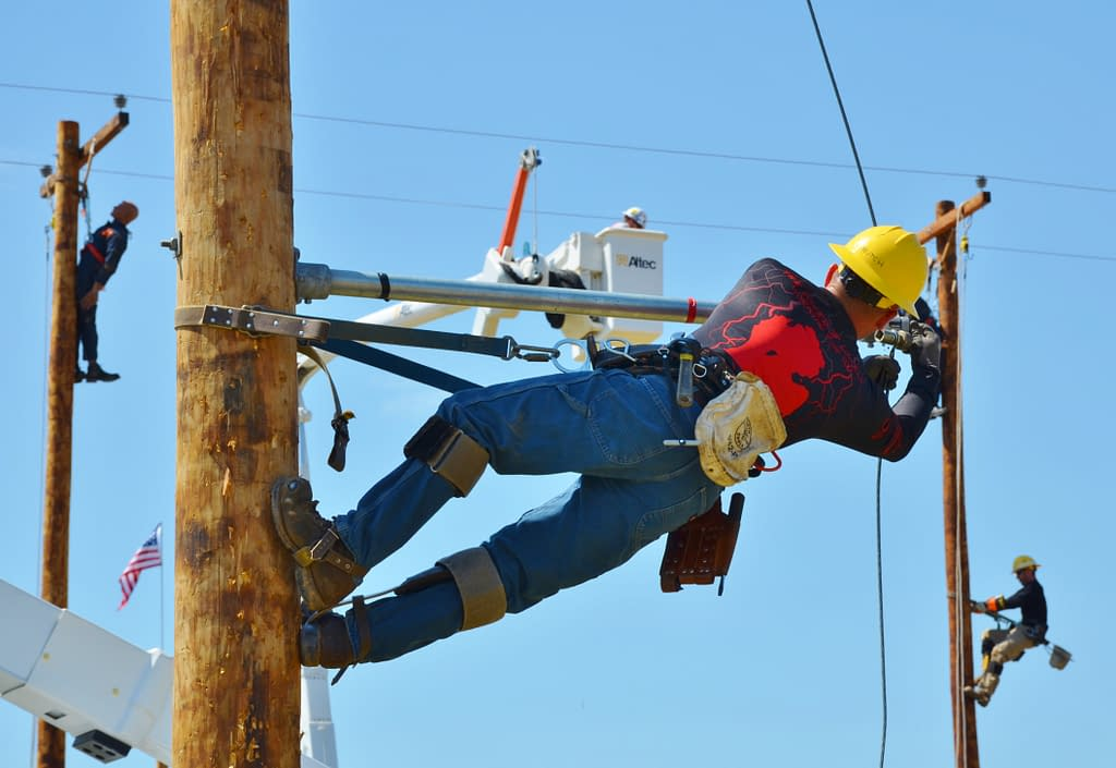 Scenes From Lowell Lineworkers Rodeo Edition Lowell S