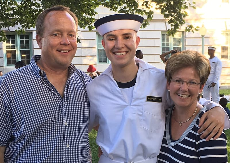 Lowell Graduate Inducted into U S  Naval Academy - Lowell's